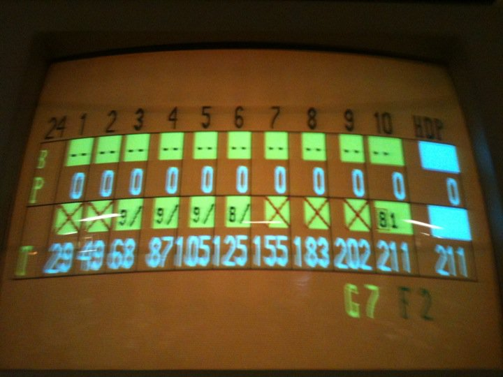 Bowled 211